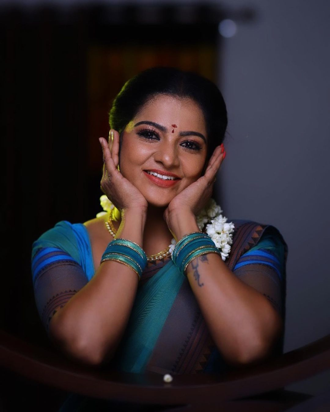 Serial Actress V. J. Chitra Photo Gallery (1)
