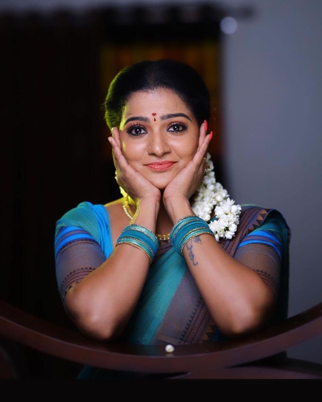 Serial Actress V. J. Chitra Photo Gallery (2)