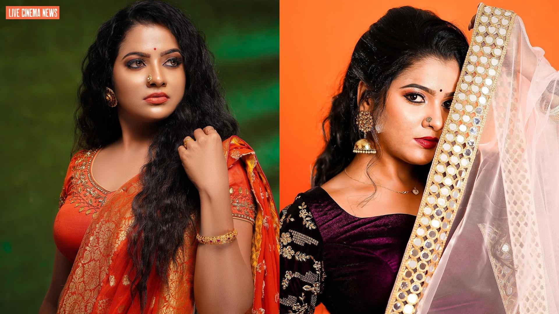 Serial Actress V. J. Chitra Photo Gallery