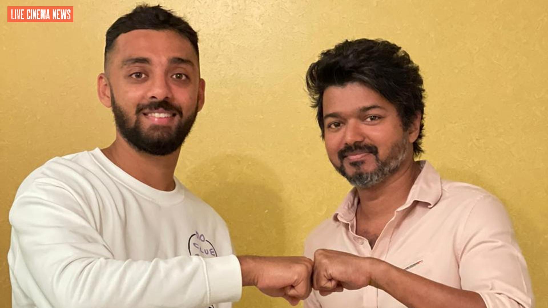 Varun Chakravarthy meet Vijay