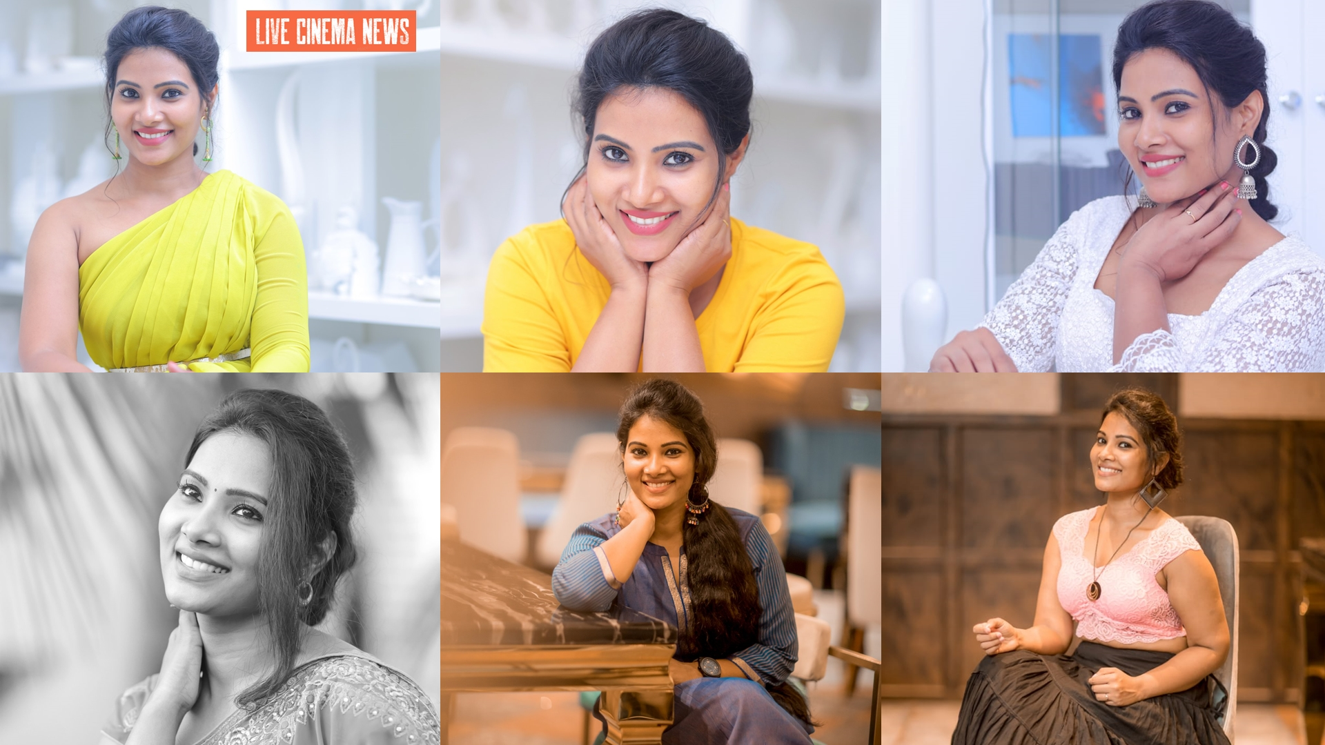 Tamil Actress Dhivya Dhuraisamy Cute Photos
