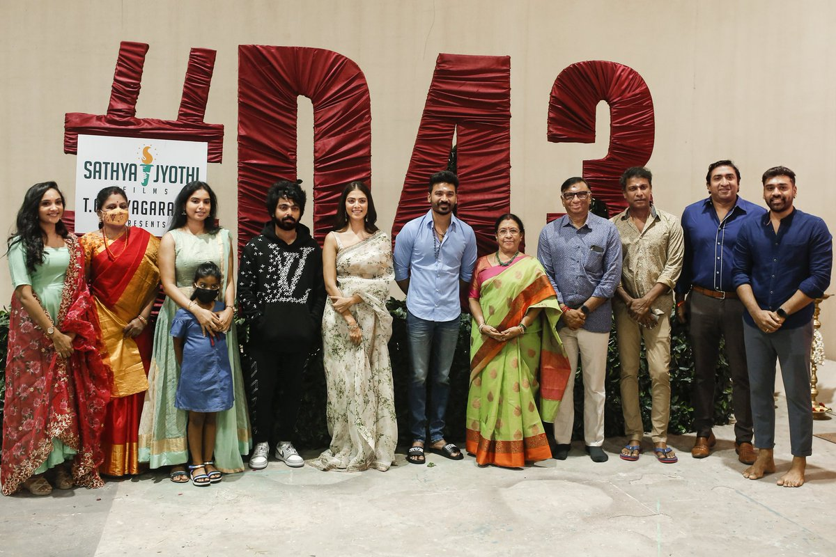 Dhanush's 43rd Movie Pooja Images HD_1