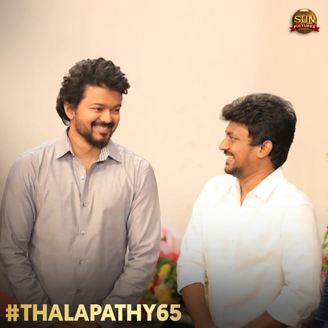 Thalapathy 65 Movie Poojai Stills