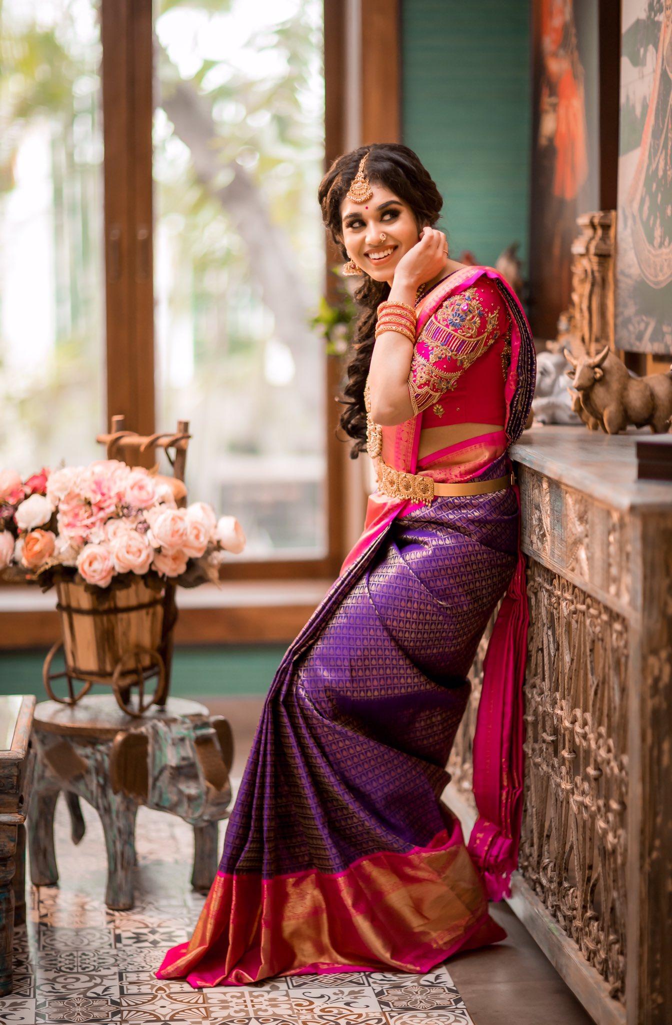 Actress Meenakshi Govindarajan Saree Photos (1)