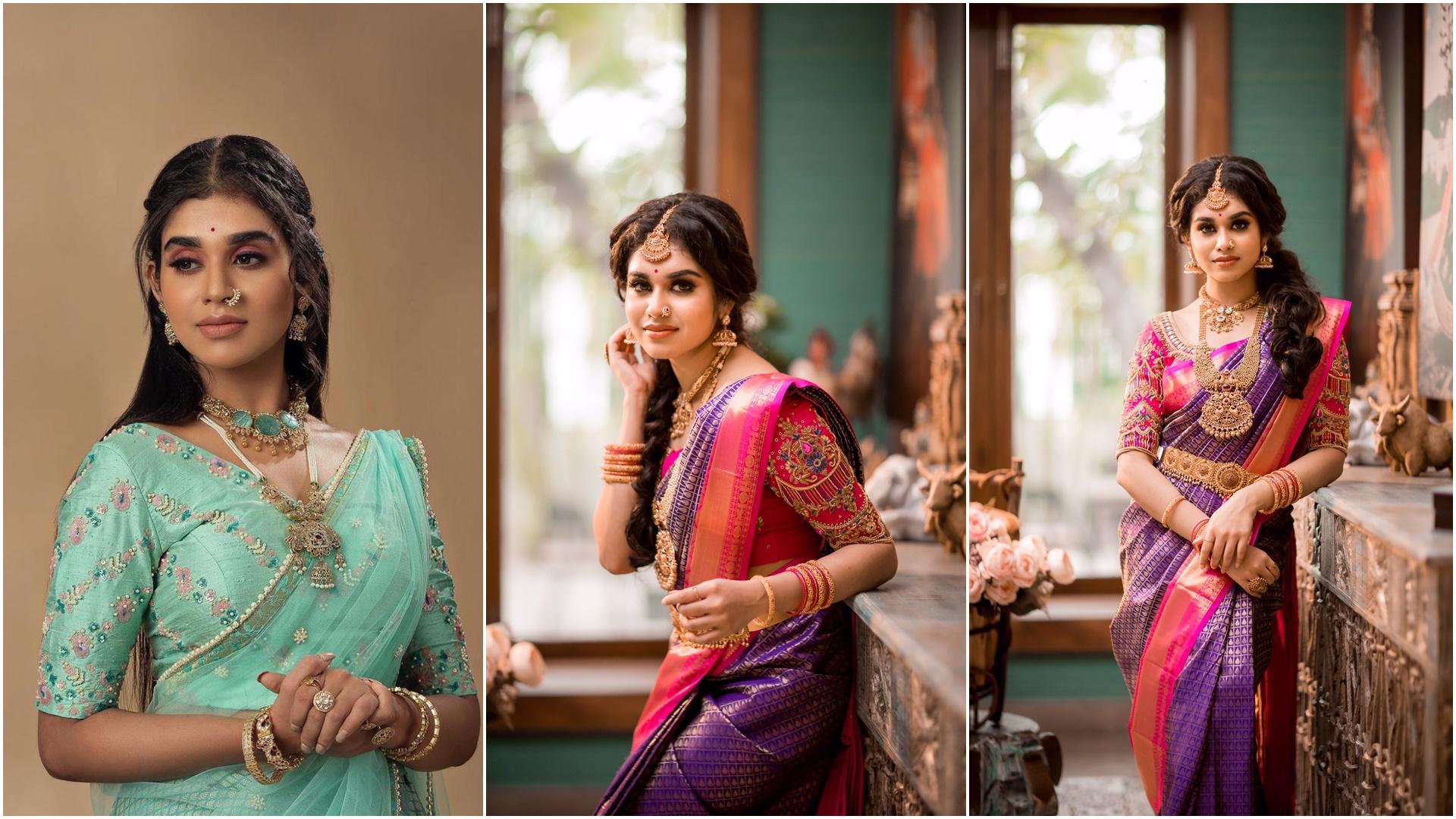 Actress Meenakshi Govindarajan Saree Photos (6)
