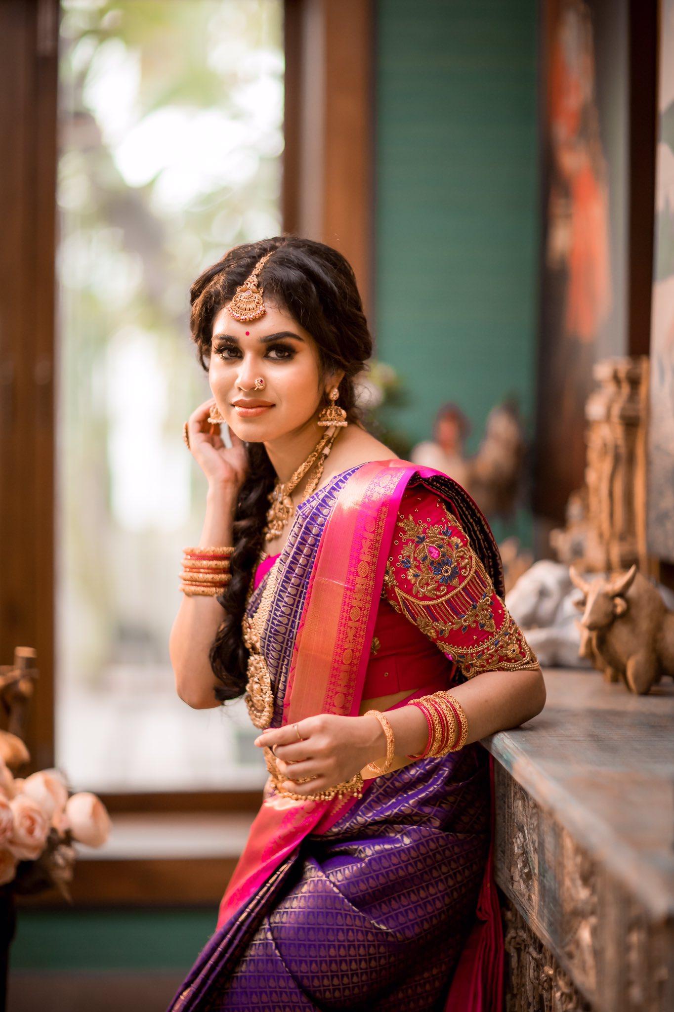 Actress Meenakshi Govindarajan Saree Photos (7)