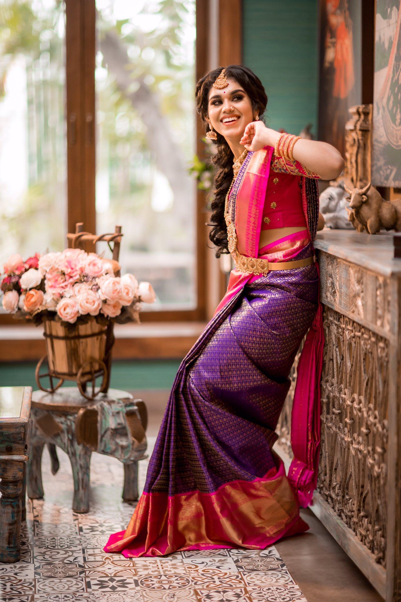 Actress Meenakshi Govindarajan Saree Photos (8)