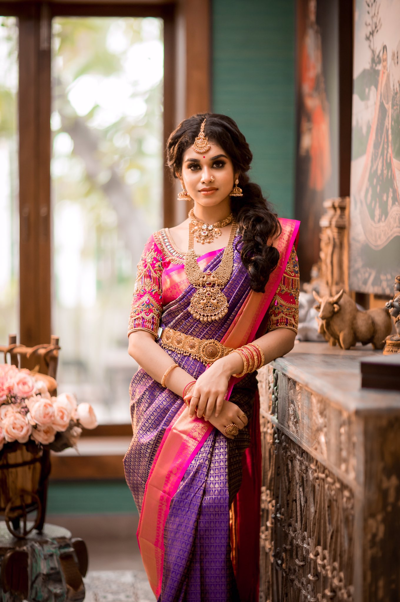 Actress Meenakshi Govindarajan Saree Photos (9)