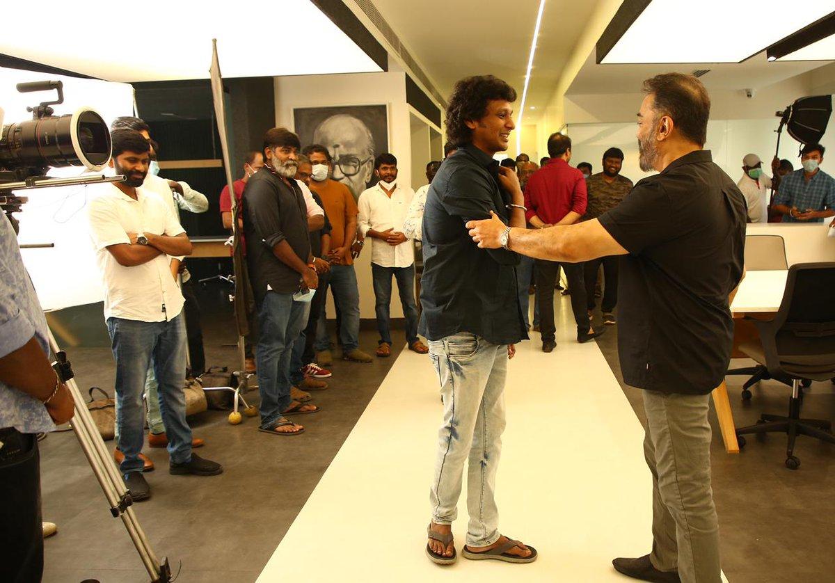 Vikram Movie Shooting Spot Stills