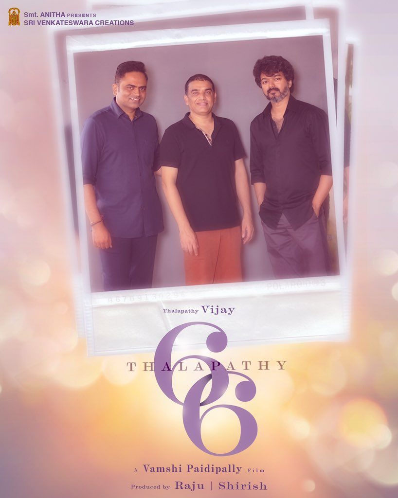 Thalapathy 66 First Look Poster